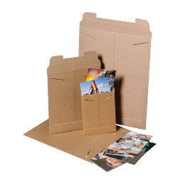 Nat-Flats™ Kraft Rigid Mailers