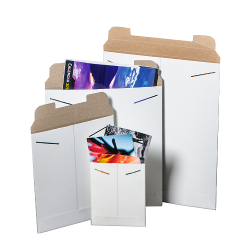 Nat-Flats™ White Rigid Mailers
