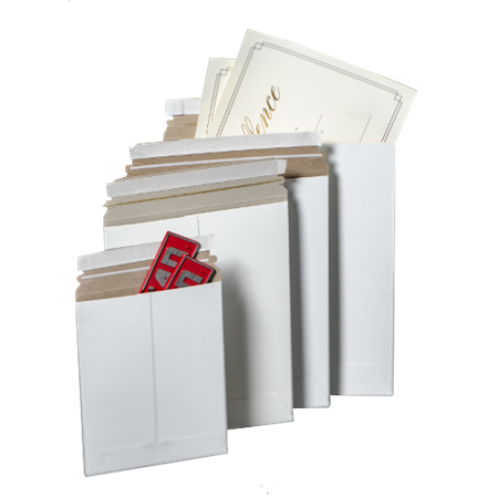 "Picture for category <hr> <ul> <li>Available for immediate shipment</li> <li>Strong and durable flat mailers</li> <li>Tamper proof self seal adhesive strip. No tape needed.</li> <li>Designed to stay rigid and flat</li> <li>Lightweight construction means lower postage costs for bulk mailings</li> <li>One case minimum order</li> <li>Constructed from durable .028 white board</li> <li>Returns subject to 20% re-stocking fee</li> <li>Click on an item below for quantity discounts</li> <li>Distributor pricing and terms available upon request</li> </ul> <p><a href=""/asset/a1033.jpg""><img src=""/Assets/a1033.jpg"" width=""181"" height=""47""></a></p> <hr> <p>Don't see the size you need? We can make it as a custom order. Visit <a href=""#"">Request a quote</a>, send us an e-mail using <a href=""mailto:Sales@NationalCarton.com"">Sales@NationalCarton.com</a>, or talk to a customer service representative Monday-Friday, 8 a.m. - 5 p.m. EST, by calling <strong>1-800-800-6221 Ext. 1</strong>.</p> <p></p></span>"